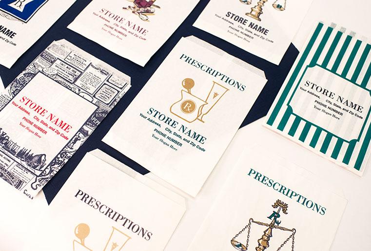 Full Line of Custom Pharmacy Bags - Integral RxSupplies